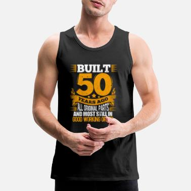 Birthday 50th Birthday - Men's Premium Tank Top
