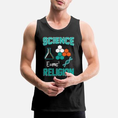 Theology Science Theology Cool Gift - Men's Premium Tank Top