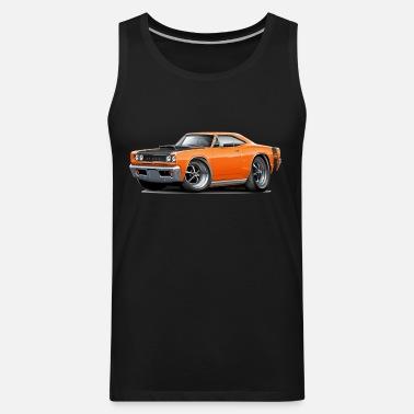 db839463cc1e5f 1968 Dodge Coronet Super Bee Orange Car Men s Premium T-Shirt ...