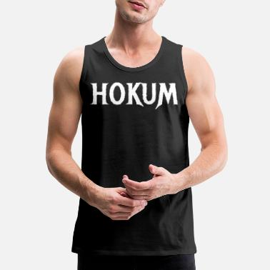 Pretentious HOKUM - Pretentious Nonsense - Men's Premium Tank Top