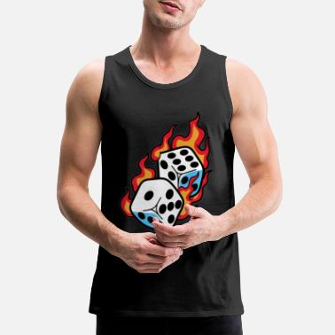 Dice DICES - Men's Premium Tank Top