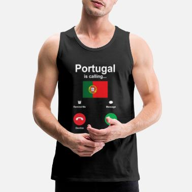 Portugal Portugal - Men's Premium Tank Top