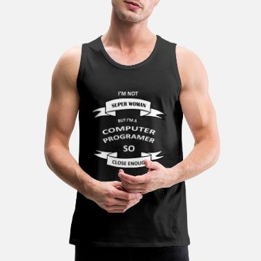 Super Woman SUPER WOMAN - Men's Premium Tank Top
