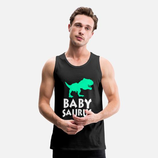 Trend Tank Tops - Dinosaur Dino Animal Lizard Jurassic Trend Gift - Men's Premium Tank Top black