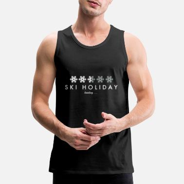 Ski Holidays Ski Holiday - Men's Premium Tank Top