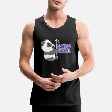 Animal Panda Bamboo - Men's Premium Tank Top