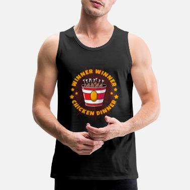 Winner winner winner - Men's Premium Tank Top