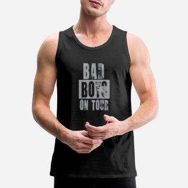 Bad Boys Tour Travel Summer Trip Vintage Cool Gift - Men's Premium Tank Top