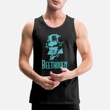 Beethoven Beethoven - Men's Premium Tank Top