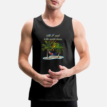 Seaside Seaside Breeze #1 - Men's Premium Tank