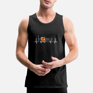 Sri Lanka i love home heimat Sri Lanka - Men's Premium Tank