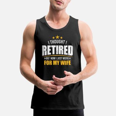 Labor Retirement - Men's Premium Tank Top