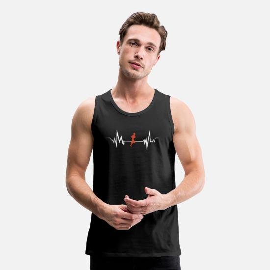 Sports Tank Tops - marathon - Men's Premium Tank Top black