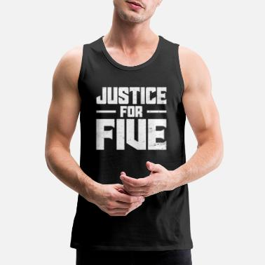 When They See Us Justice for Five - Men's Premium Tank Top