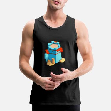 Towering TOWER - Men's Premium Tank Top