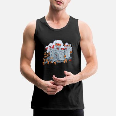 Sieg The Siege - Men's Premium Tank Top