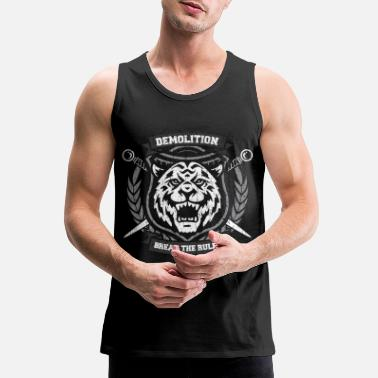 Demo 42 tiger4 demo - Men's Premium Tank
