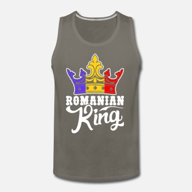 Romania Flag Country Chest Tank Top Shirt