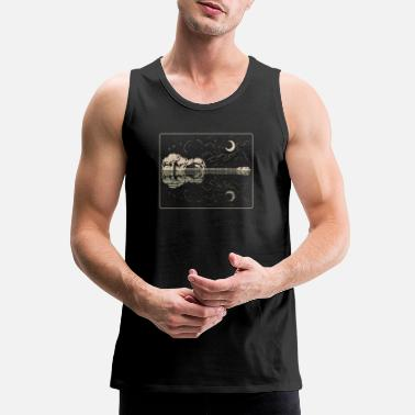 Lake Guitar Lake Shadow - Music Instrument Musician - Men's Premium Tank
