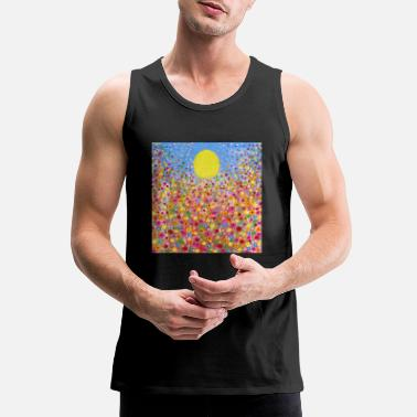 Meadows Wildflower Meadows - Men's Premium Tank Top