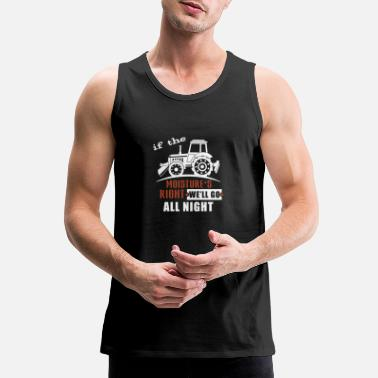 Proud Proud Farmer - Men's Premium Tank Top