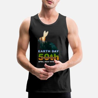 Earth Day Anniversary Earth Day 50th Anniversary - Men's Premium Tank Top