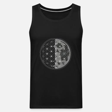 Sacred Geometry Seed of Life  Men/'s Tank Top