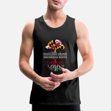 Maryland Grown with Indonesian Roots - Men's Premium Tank Top