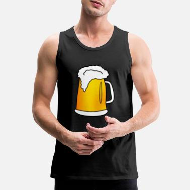 beer bier oktoberfest - Men's Premium Tank Top