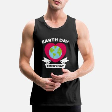 Christmas Earth day environment climate protection gift - Men's Premium Tank Top