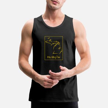 Michigan Michigan - Men's Premium Tank