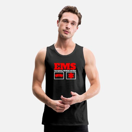 Vehicle Tank Tops - Emergency Medical Services - Men's Premium Tank Top black