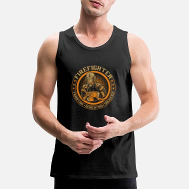 Fire Fire Fighter - Men's Premium Tank Top