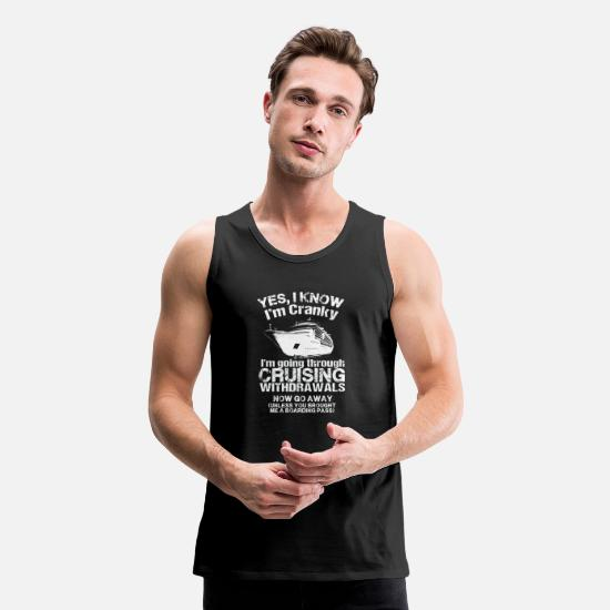 Gay Tank Tops - Cruising - Cruising - i'm going through cruising - Men's Premium Tank Top black