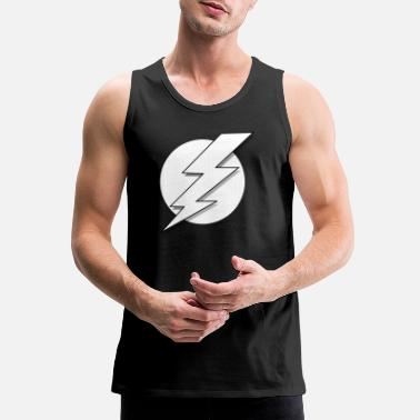 Lightning Bolt Lightning - Men's Premium Tank