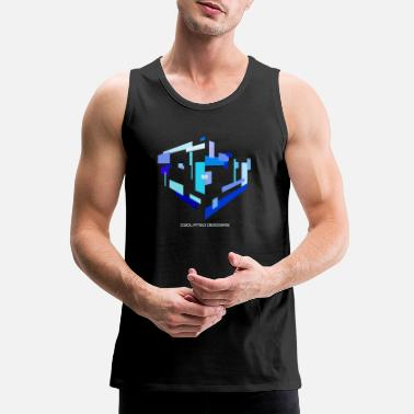Rectangle Isolated Rectangles - Men's Premium Tank