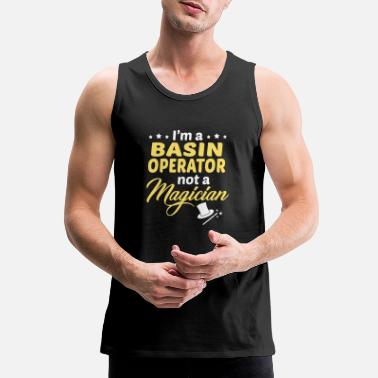 Basin Basin Operator - Men's Premium Tank Top