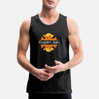 Wife Best Costume For Firefighter's Wife. - Men's Premium Tank