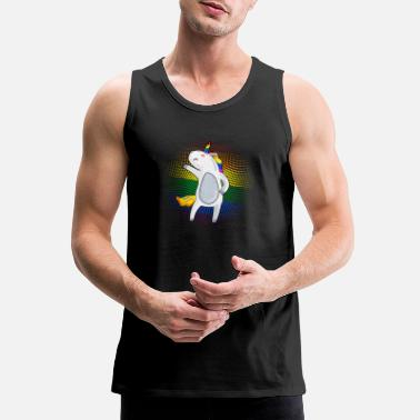 Homosexual LGBT Unicorn Shirt - Men's Premium Tank