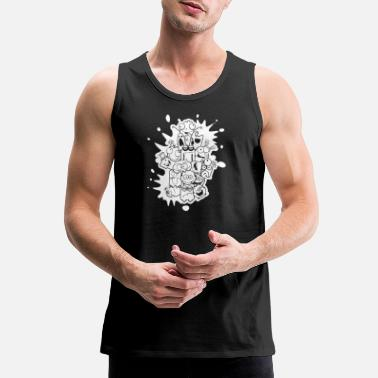 Happy Face Happy Faces - Men's Premium Tank Top