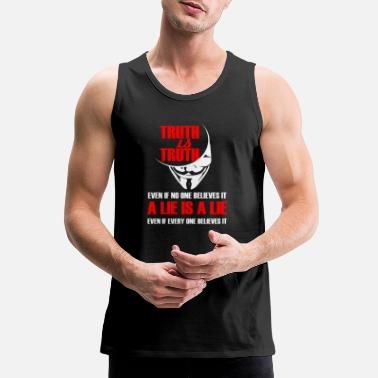 Anonymous Anonymous - gift hacker anonymous mask we are a - Men's Premium Tank Top