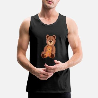 Teddy Bear Teddy Bears - Men's Premium Tank Top