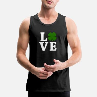 Four Leaf Clover Four Leaf Clover Love - Men's Premium Tank