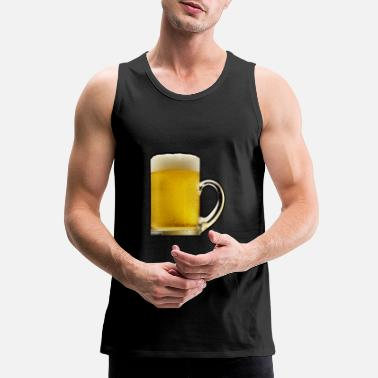 Bar Pub Beer Alcohol Bar Pub Drinking Booze - Men's Premium Tank Top