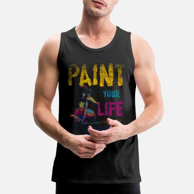 Painting Paint Painting - Men's Premium Tank Top