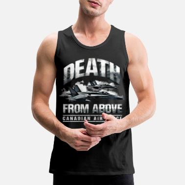 Rcaf Death From Above Canadian Air Force - Men's Premium Tank Top