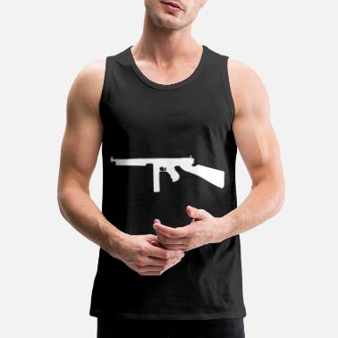1928ac Thompson submachine gun gift - Men's Premium Tank Top