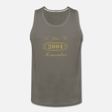Since 2004 A Year To Remember - Men's Premium Tank Top