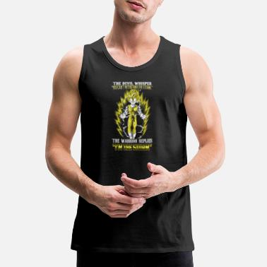 Ball Vegeta - The warrior replies 'I'm the storm' - Men's Premium Tank