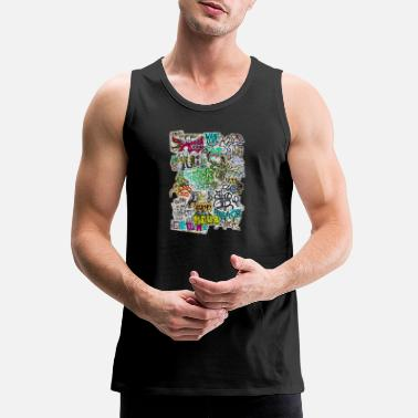 Graffiti graffiti madness - Men's Premium Tank